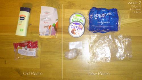 Plastic Challenge: Fonda LaShay, Week 2