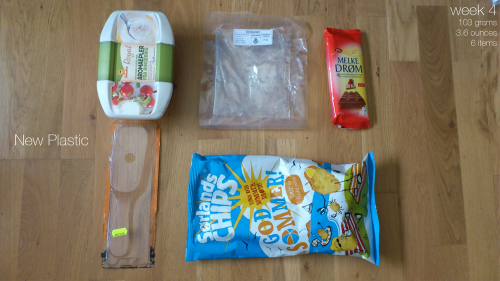 Plastic Challenge: Fonda LaShay, Week 4