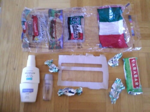 Plastic Challenge: Sabrina B, Week 5