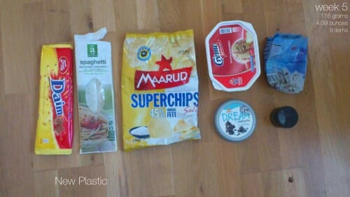 Plastic Challenge: Fonda LaShay, Week 5