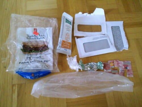 Plastic Challenge: Sabrina B, Week 6