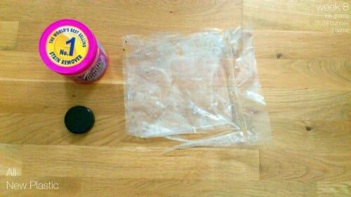 Plastic Challenge: Fonda LaShay, Week 8