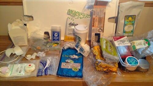 Plastic Challenge: Kristin Overton, Week 44