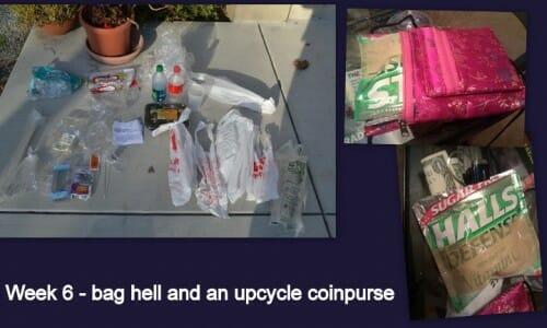 Plastic Challenge: Sandy, Week 6