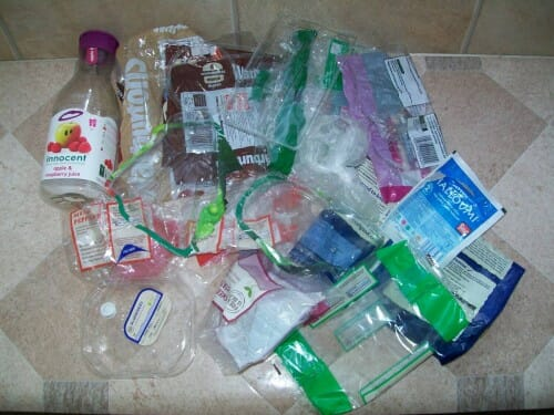 Plastic Challenge: Sarah Fleming, Week 2