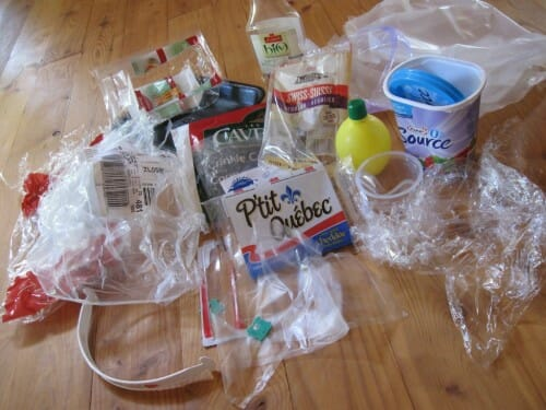 Plastic Challenge: Anny Frechette, Week 7