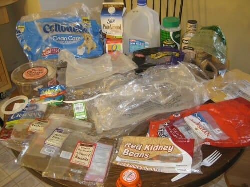 Plastic Challenge: Christina S., Week 2