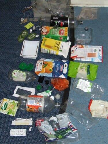 Plastic Challenge: Rhiannon, Week 1