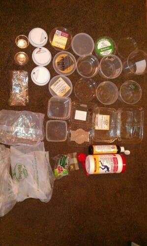 Plastic Challenge: v, Week 2