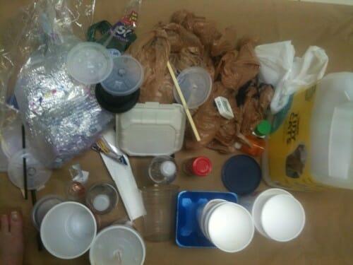 Plastic Challenge: Cynthia p.w., Week 1