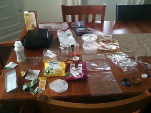 Plastic Challenge: Julie B, Week 3