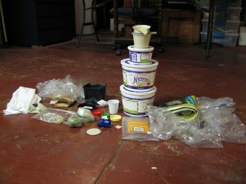 Plastic Challenge: Sheri Puckette, Week 1