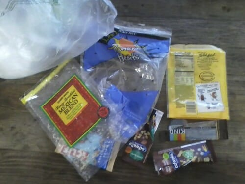 Plastic Challenge: Robin Rush, Week 1