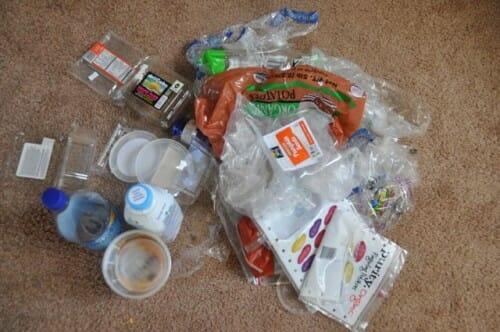 Plastic Challenge: Helen Wight, Week 1