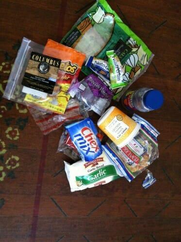 Plastic Challenge: Megan Peterson, Week 1