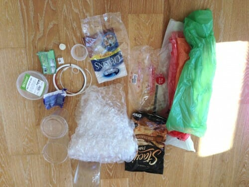 Plastic Challenge: Martha Seaver, Week 1