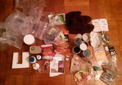 Plastic Challenge: Erin Kurnik, Week 1