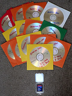 Plastic At My Singing Lesson and How to Recycle Used CD's and DVDs