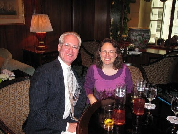 Tim Gunn and Beth Terry at Four Seasons