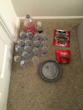 Plastic Challenge: Jesse J., Week 1