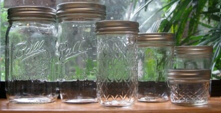 Canning Jar Sizes