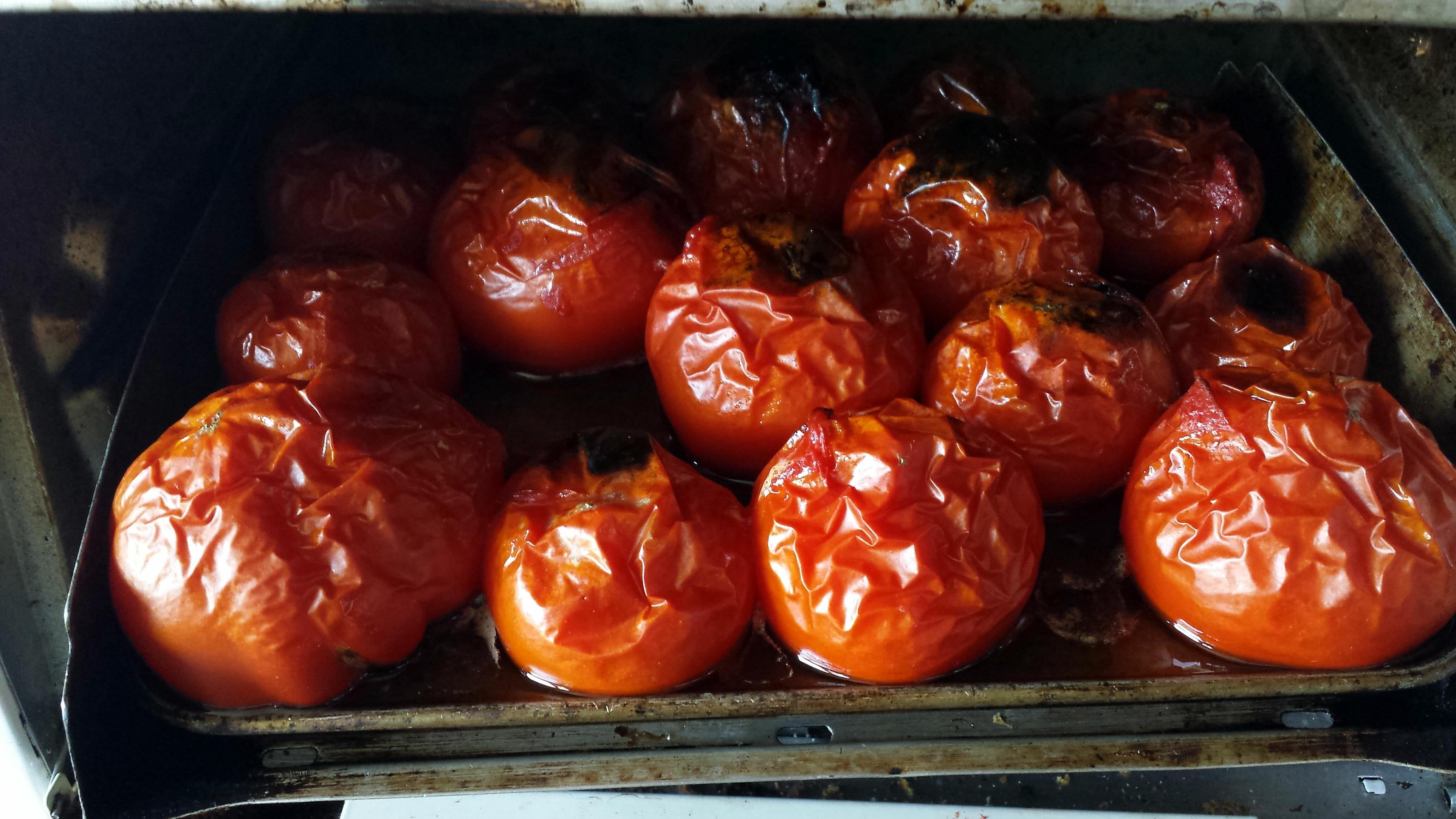 Fresh Homemade Roasted Tomato Sauce Recipe 187 My Plastic