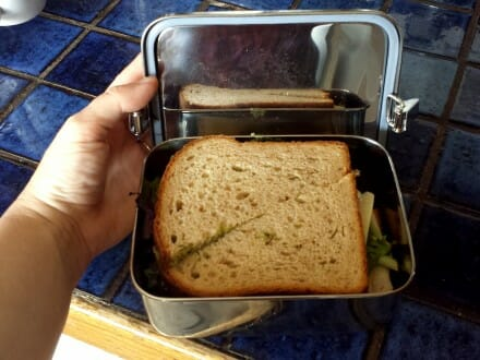 LWP airtight sandwich container