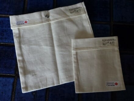 cotton hemp lunch baggies