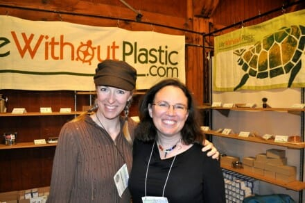 Beth Terry and Chantal Plamondon at SF Green Festival 2012