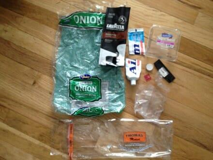 Plastic Challenge: jennifer patrick, Week 1