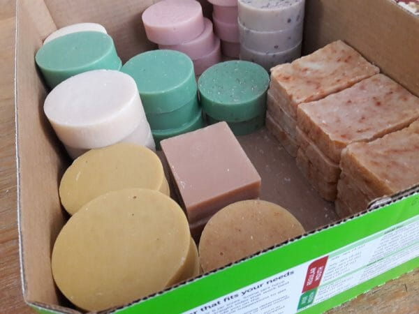 Fillgood.co solid soap and shampoo bars