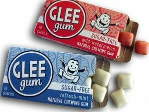 Glee plastic-free chewing gum