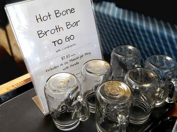 Three Stone Hearth broth bar