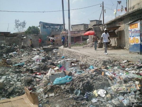 plastic trash problem Haiti