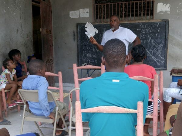 environmental education Les Cayes Haiti