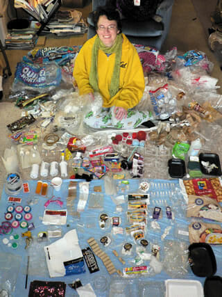 Beth Terry's 2007 plastic collection