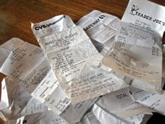 thermal cash register receipts