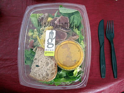 Mixt Greens salad box