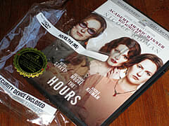 The Hours DVD & plastic wrapper