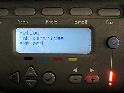 HP printers waste ink!
