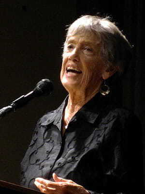 Joanna Macy speaking in San Francisco April 2010
