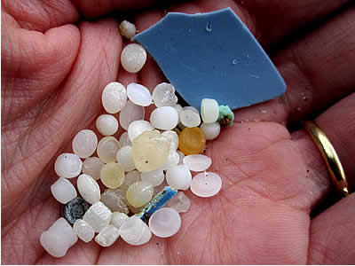 plastic nurdles