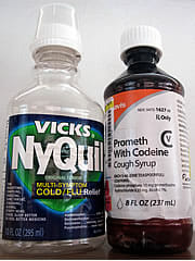 Nyquil and Codeine Cough Syrups