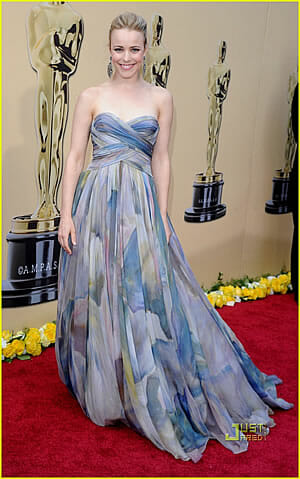 Rachel McAdams's 2010 Oscar Dress