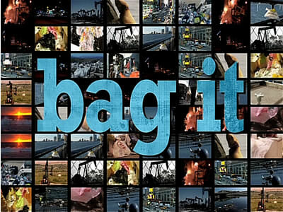 scene from Bag It movie