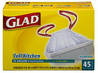 Glad Trash Bags - We Don't Use Them