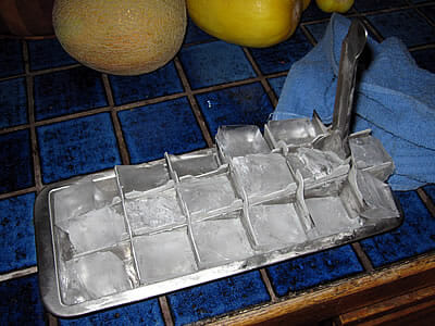 stainless steel ice tray