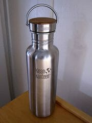 Klean Kanteen Reflect stainless steel water bottle