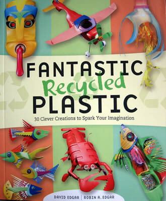 Fantastic Recycled Plastic book