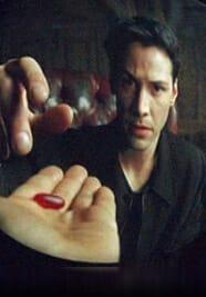 Matrix take the red pill